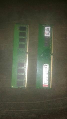 Memória RAM 4gb DDR4