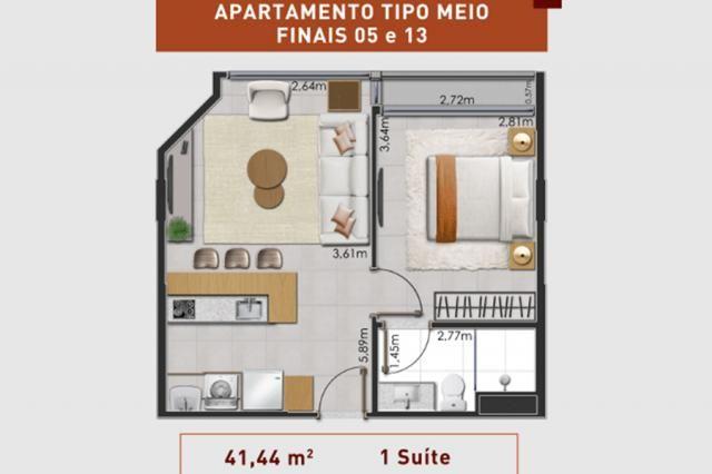 Prático e moderno - Apartamento 1 Quarto - LIV  - Foto 13
