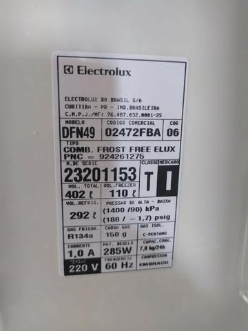 Geladeira Branca Electrolux Celebrate DFN49 - 405 Litros - Frost Free - Não faço entrega - Foto 3