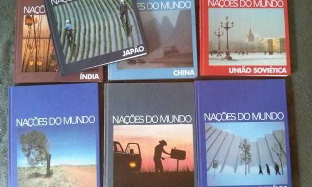Coleção Nações do Mundo 7 títulos - Foto 3