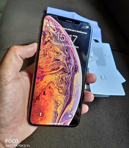 IPhone Xs Max / garantia Apple até julho de 2020 zeroooo - Foto 3
