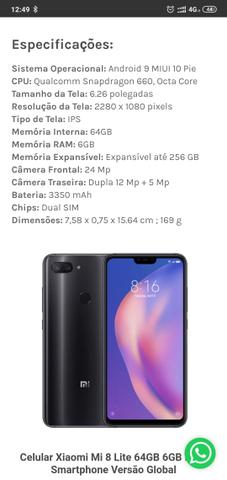 Xiaomi 8 lite - Foto 2