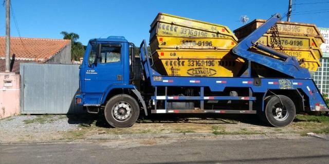 Caminhão poliguindaste broock - Foto 3