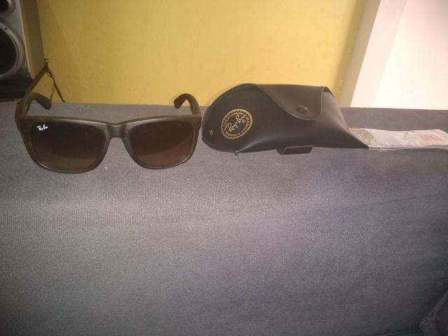 88bba333e2518 Óculos Ray ban armação emborrachada original!!! - Bijouterias ...