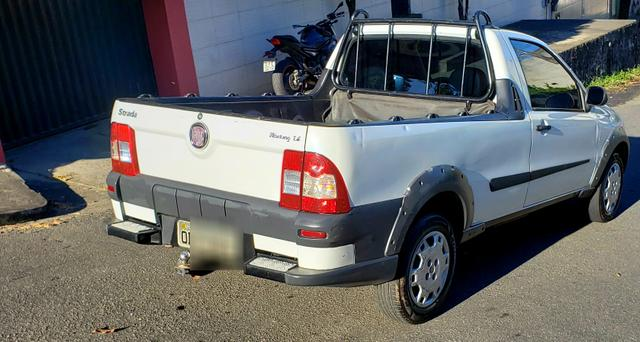 Fiat strada working 1.4 celebration cabine simples branca 2012 - Foto 5