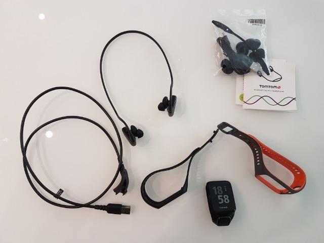 Tomtom Sparke 3  Runner 3 - Cardio + Music Com Fone Bluetooth Original 0e39cfc8a1448