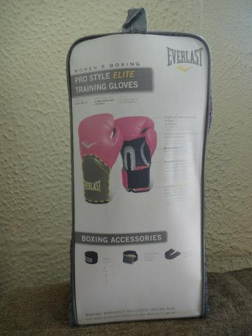 0b33bb0ba Luva de boxe - Everlast Pro Style Elite Training Gloves 8 OZ. Nova ...