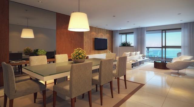 Apartamento a beira mar de Olinda com 3 ou 4 quartos e área de lazer completa - Foto 4