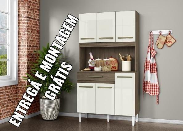 Armário de cozinha 6 portas - Foto 2