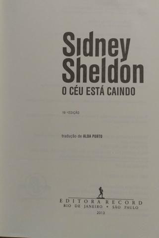 Livro Sidney Sheldon - Foto 2