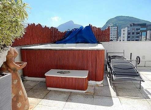 Cobertura Vista p/Mar 4 qrtos em Ipanema - Foto 6