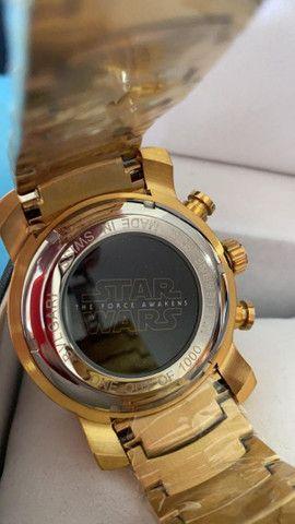 Relógio BVLGARI Star Wars Caveira a prova d'água - Foto 3