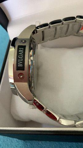 Relógio BVLGARI Híbrido Prata Automático a prova d'água - Foto 5