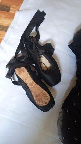 Sapatilha e saia de ballet - Foto 2