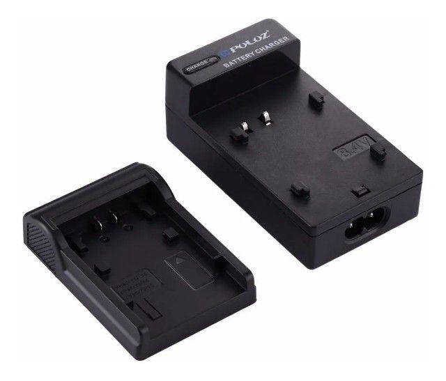 Carregador Sony Bc-vh1 Para Np-fh50 Fv70 Sr68 Hx1 Hx100 Sx20 - Foto 3