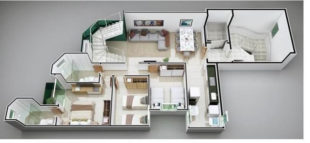 Apartamento à venda com 3 dormitórios em Imbaúbas, Ipatinga cod:956 - Foto 2