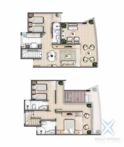 Apartamento com 3 dormitórios à venda, 113 m² por R$ 500.000,00 - Porto das Dunas - Aquira - Foto 8