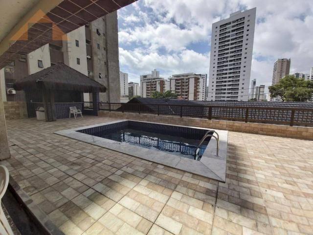 Apartamento com 1 quarto para alugar, 43 m² por R$ 1.599/mês - Boa Viagem - Recife/PE - Foto 12