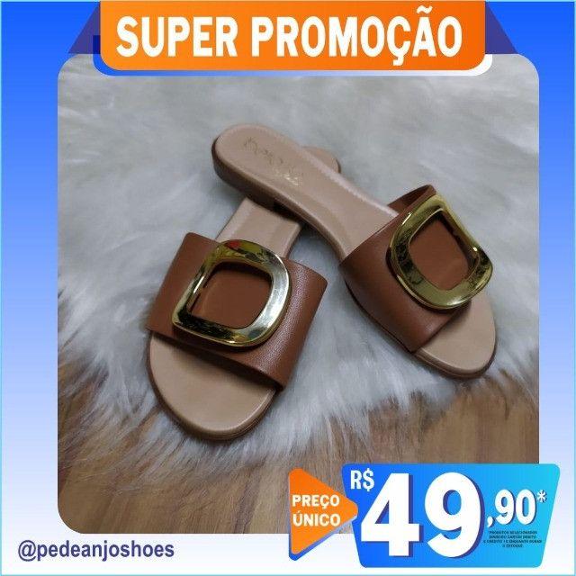 Tamanco Beira Rio Feminino Slide (Novo) - Foto 3