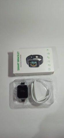 Relógio Smartwatch D20/y68 Branco Bluetooth Android/IOS - Foto 2