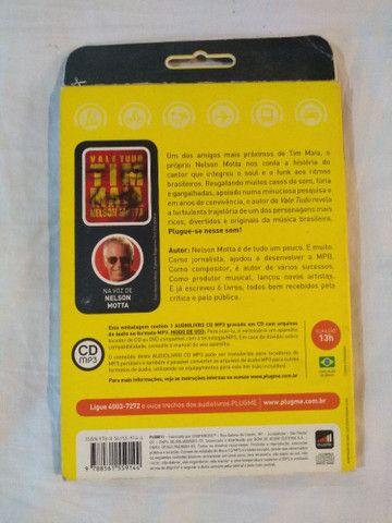 CD - VALE TUDO  - TIM MAIA - LIVRO PARA OUVIR - Foto 3
