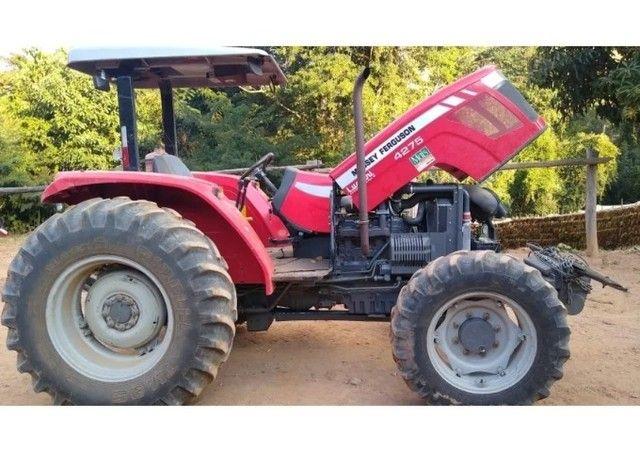 Trator Massey Ferguson 4275 4x4 2016 Cabinado - Foto 2