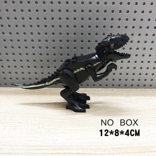 Lego compativel Dinossauros Jurassic Park 8 pçs Lindo Presente Criança Coleção - Foto 2