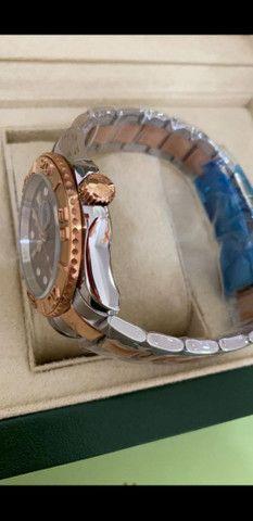 Relógio Rolex Yacht Master Automático a prova d'água Completo - Foto 4