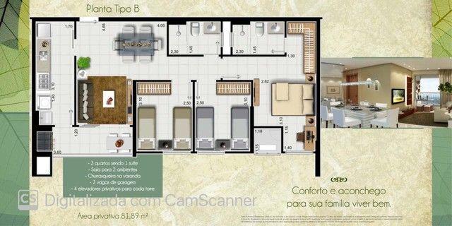 Apartamento Pronto, possui 78 metros quadrados com 3 quartos em Jardim Europa - Cuiabá - M - Foto 8