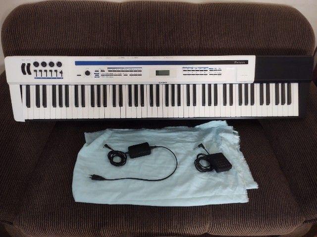 Piano Casio Privia PX5-S completo. Teclado Sintetizador. Impecável. Sem marcas de uso.