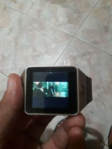 Relógio celular smart watch Qwo9 Wi-Fi  3g  - Foto 4