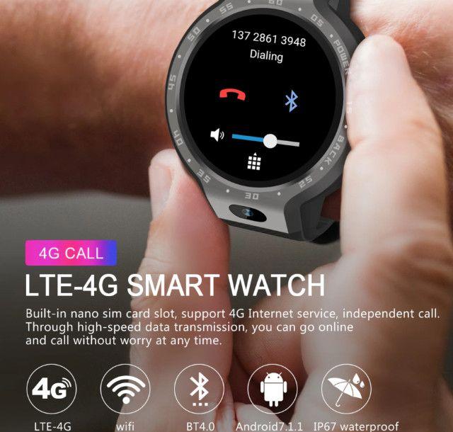 Smart Watch Lemfo LEM9 Relógio Inteligente Fitness - Foto 6