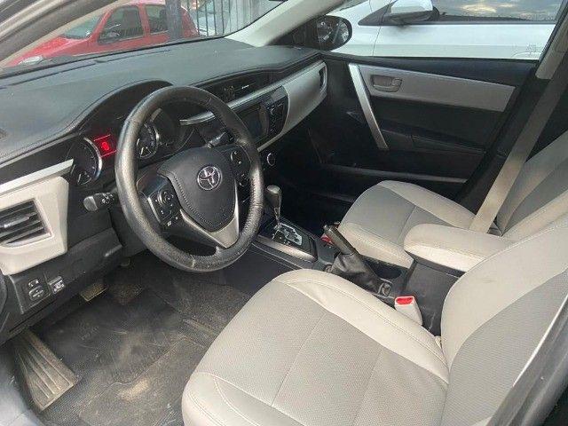 Toyota Corolla XEi 2.0 Aut + couro + gnv + multimídia - Valor real sem pegadinhas! - Foto 8