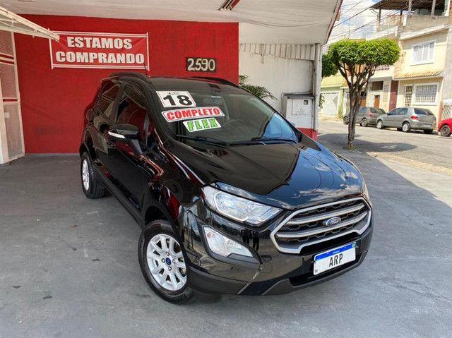 Ford EcoSport  se 1.,5 preta flex 2018 com multimidia