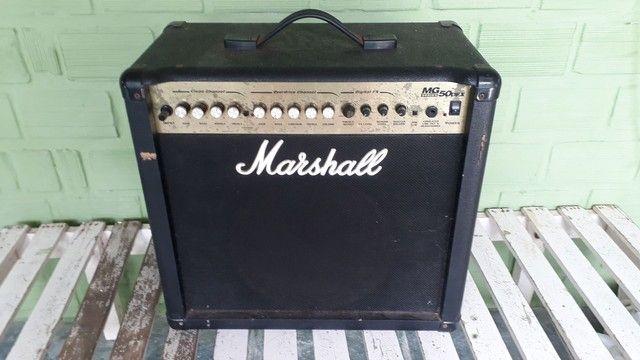 Amplificador de Guitarra Marshall MG 50 DFX