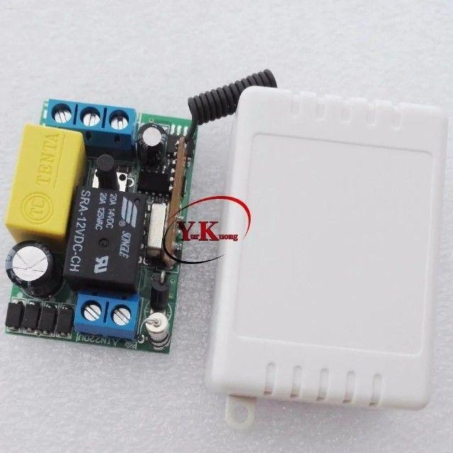 Interruptor Parede Duplo Lampada Relé Wifi Controle Remoto - Foto 4