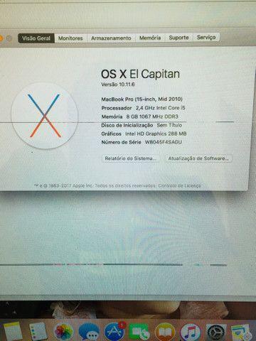 "MacBookPro 15"" Usado - Foto 6"