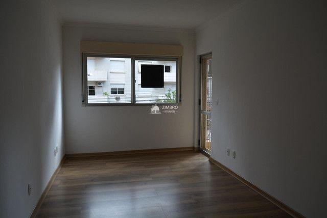 Apartamento 02 dormitórios para alugar em Santa Maria de frente com Sacada Garagem - ed Sa - Foto 3