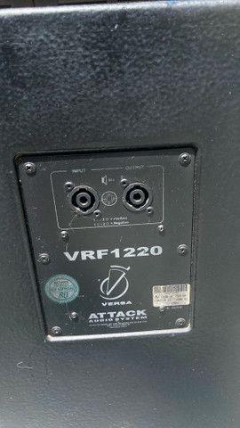 Par de caixas ativas ATTACK VRF1230A - Foto 4