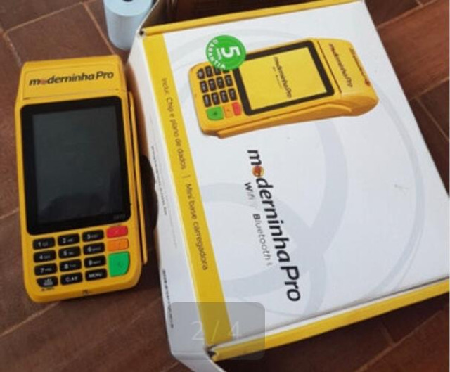 A Moderninha Pro Point A Pronta entrega chip NFC Pagseguro - Foto 4