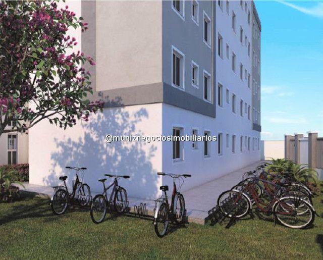 6R Lindo apartamento 2 quartos , salão de festa ,partir de 130 mil! - Foto 5