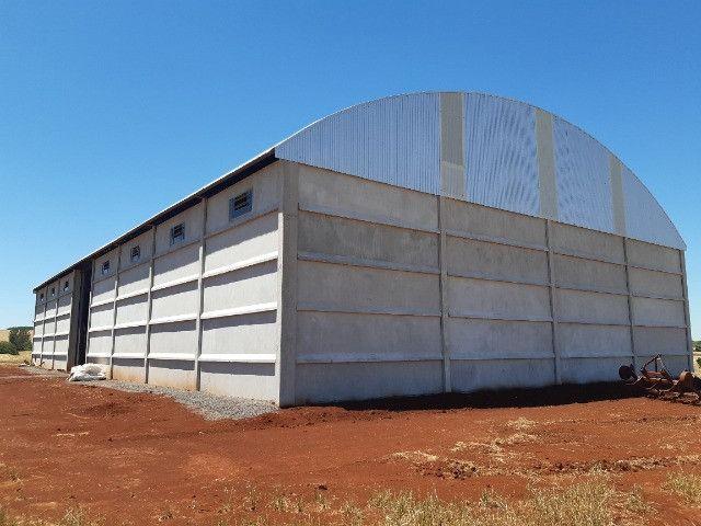Pavilhão Armazém para Grãos 20 x 40m x 6,00m Pé Direito - Foto 14