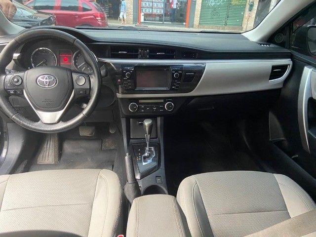 Toyota Corolla XEi 2.0 Aut + couro + gnv + multimídia - Valor real sem pegadinhas! - Foto 7