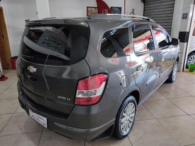 Chevrolet Spin LT 1.8 Automática + GNV 5G Novíssima - Foto 4
