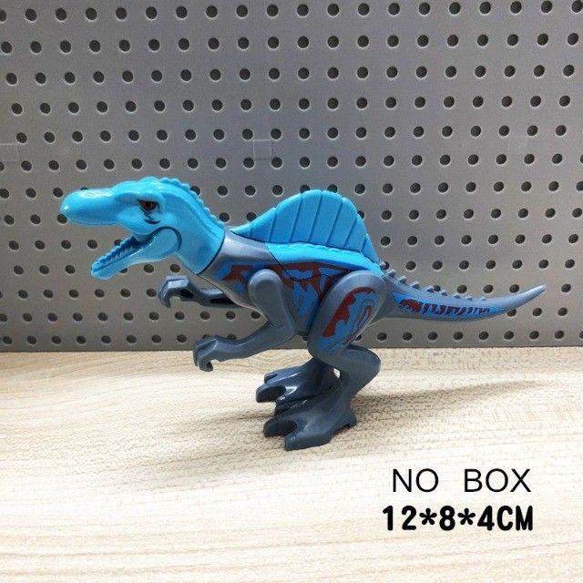 Lego compativel Dinossauros Jurassic Park 8 pçs Lindo Presente Criança Coleção - Foto 4