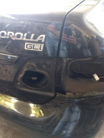 Toyota Corolla gli ano 2012 sucata somente peças