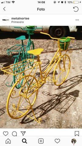 Bicicleta para jardim