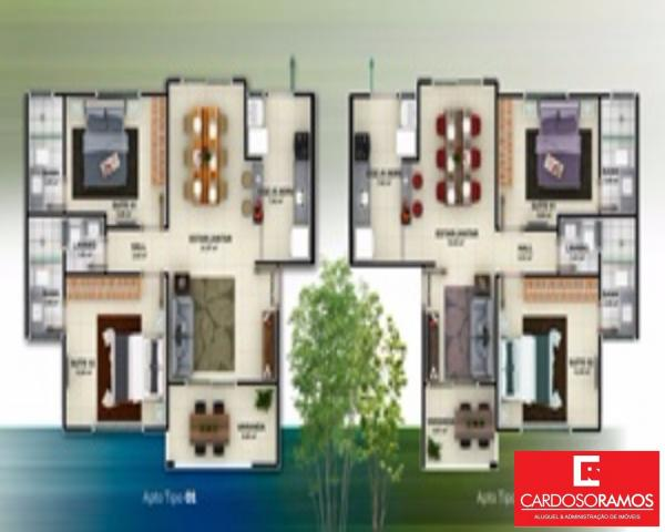 Apartamento à venda com 2 dormitórios em Buraquinho, Lauro de freitas cod:AP07819 - Foto 6