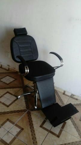Cadeira P/Barbeiro Nova