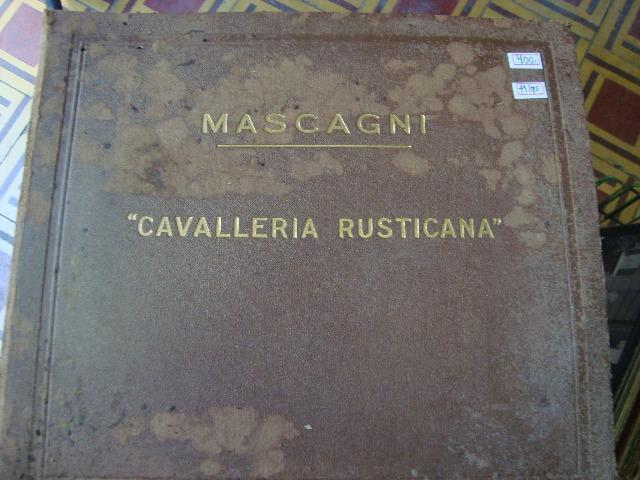 Caixa de Lps Ópera - Mascagni Cavalleria Rusticana
